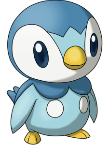 this thing right here it s called a piplup and it s the cutest