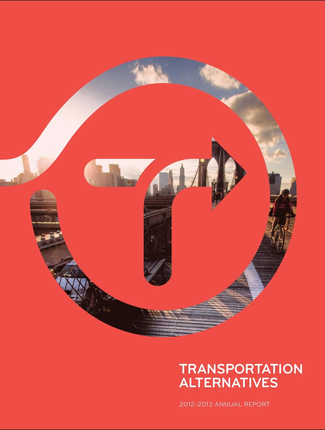 Font&L/O ref Transportation Alternatives' 40th Anniversary Annual Report