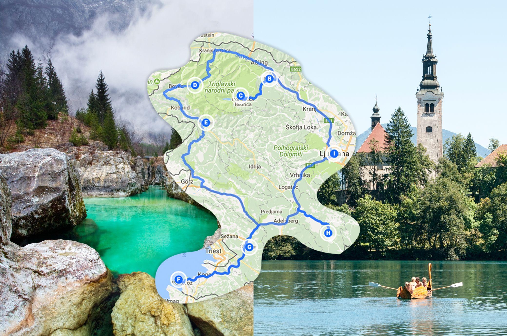 Este es el viaje por carretera perfecto a través de Eslovenia