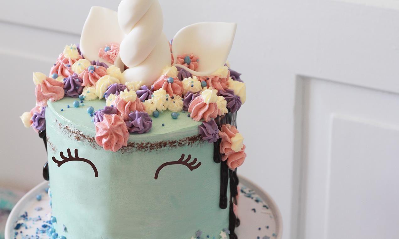 Torta U Obliku Jednoroga Recept Dr Oetker Torte Pinterest