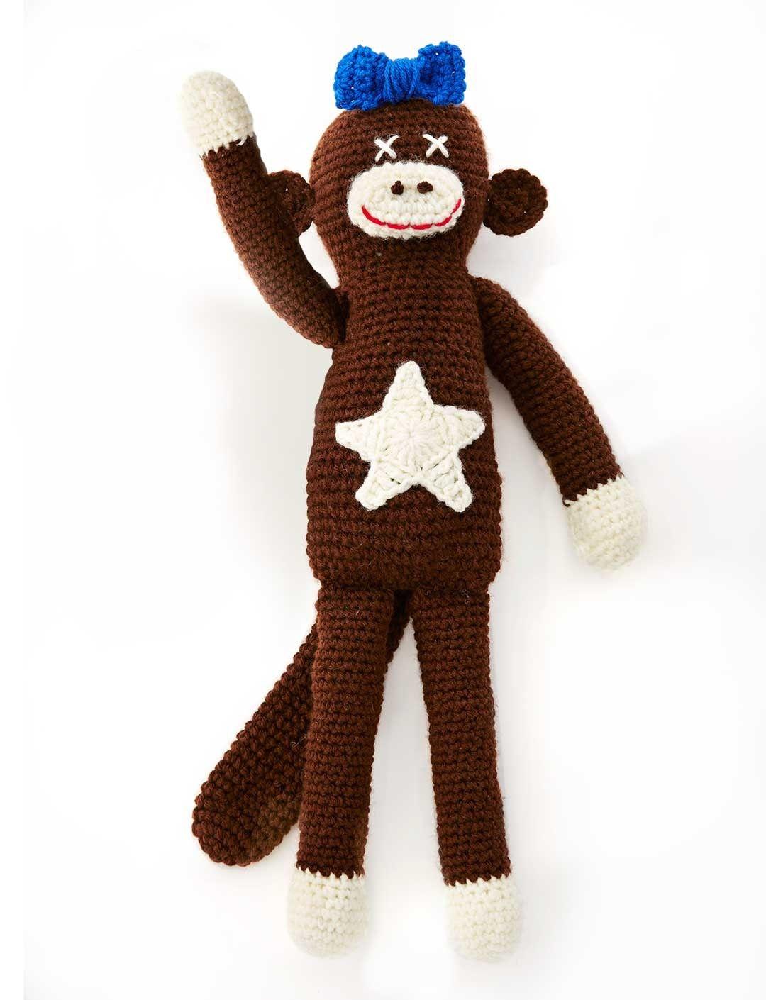 Amigurumi Lucy The Monkey (Crochet) - Free English Pattern | Crochet ...