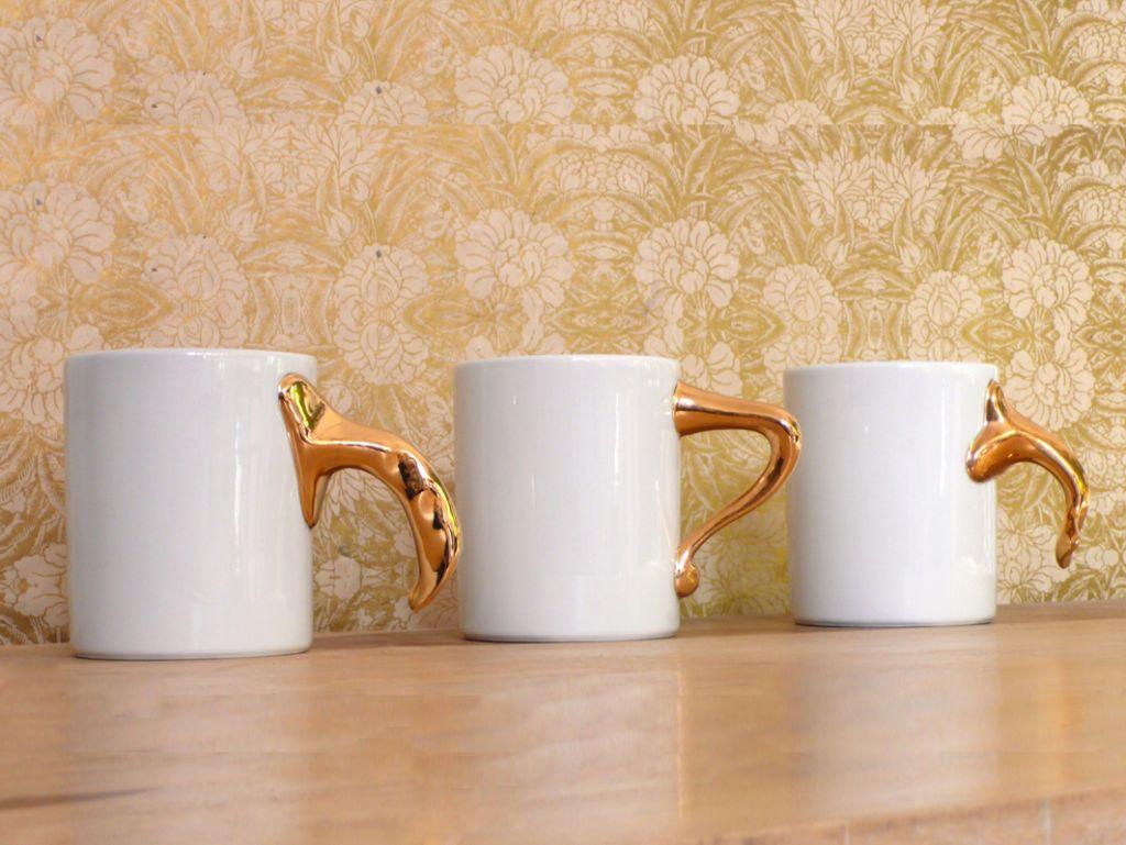 Antoni Gaudí knobs on mugs
