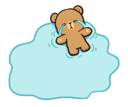 Milk & Mocha Message Stickers – LINE stickers | LINE STORE