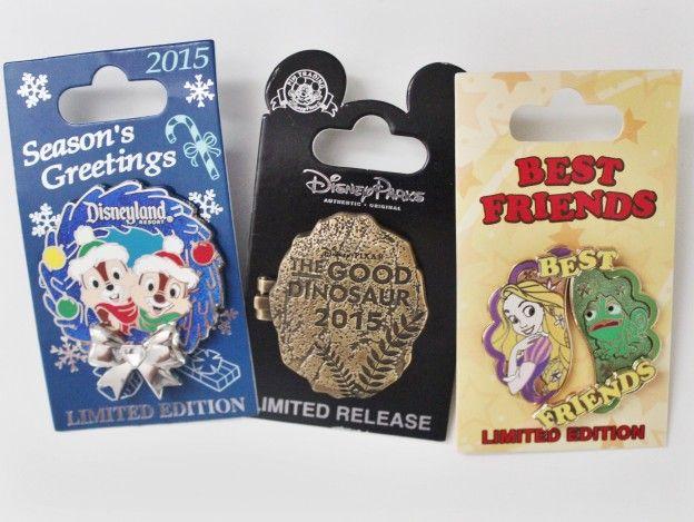Disneyland 2015 December Pins