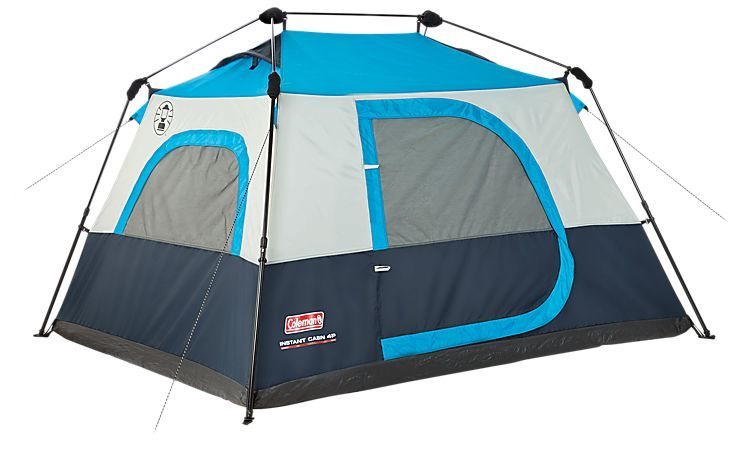 Coleman Instant Tent 4 Four Person Tent | Bass Pro Shops  sc 1 st  Pinterest & Coleman Instant Tent 4 Four Person Tent | Bass Pro Shops | The ...
