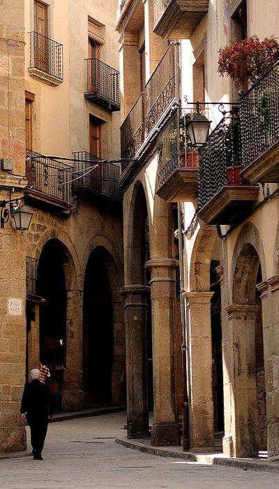 This is Solsona, Catalonia, Spain (by S. Lo on Flickr), but reminds me of a place I stayed in Barcelona.  :)