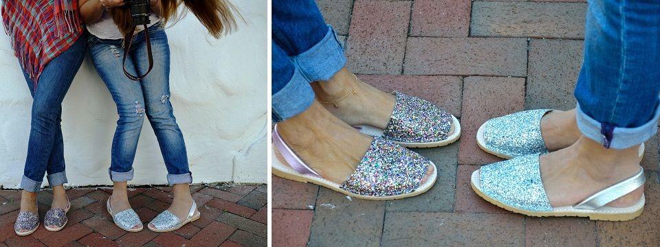 Scarpe minorchine 2015 - la comodità glamour che piace tanto Minorchine  glitter Verano