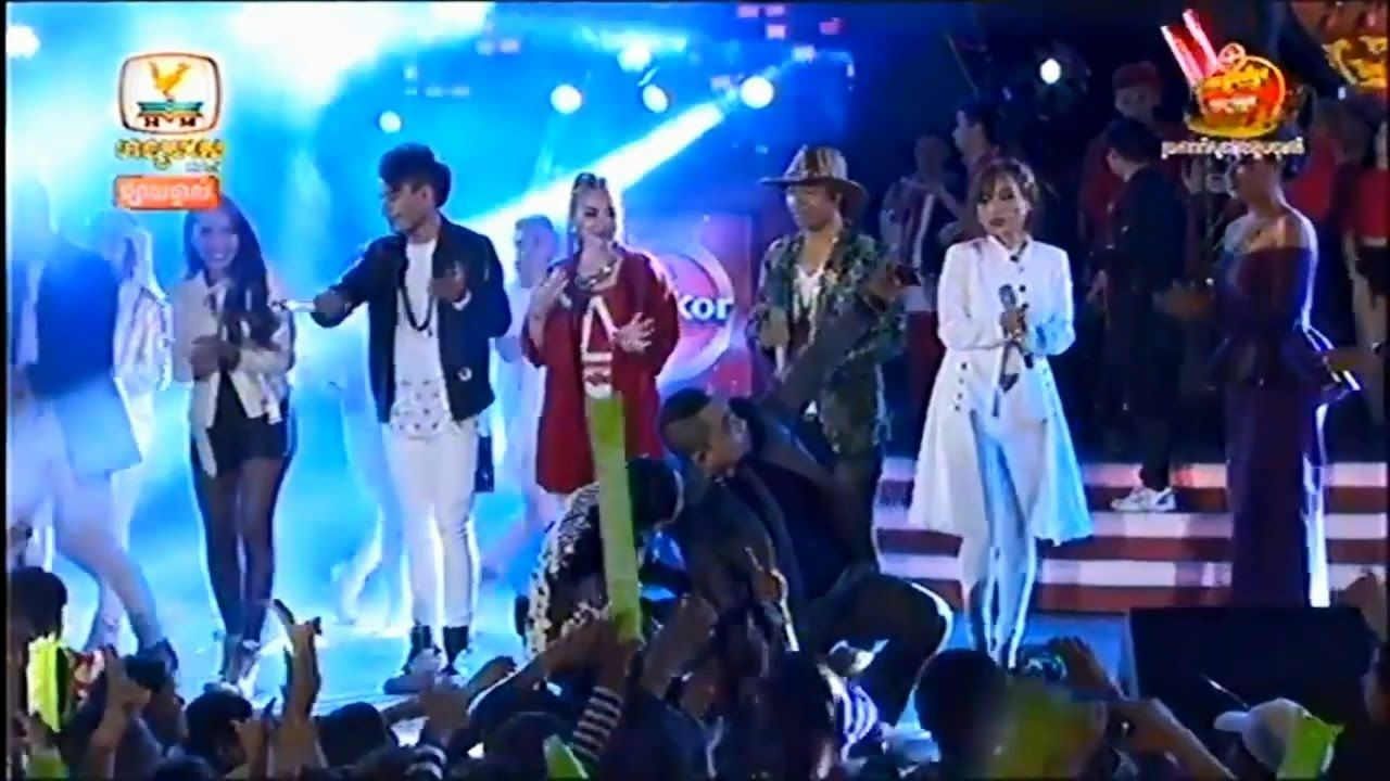 HM HDTV All Top Singer Stars Are Sing Together-Khmer Water Festival Conc...