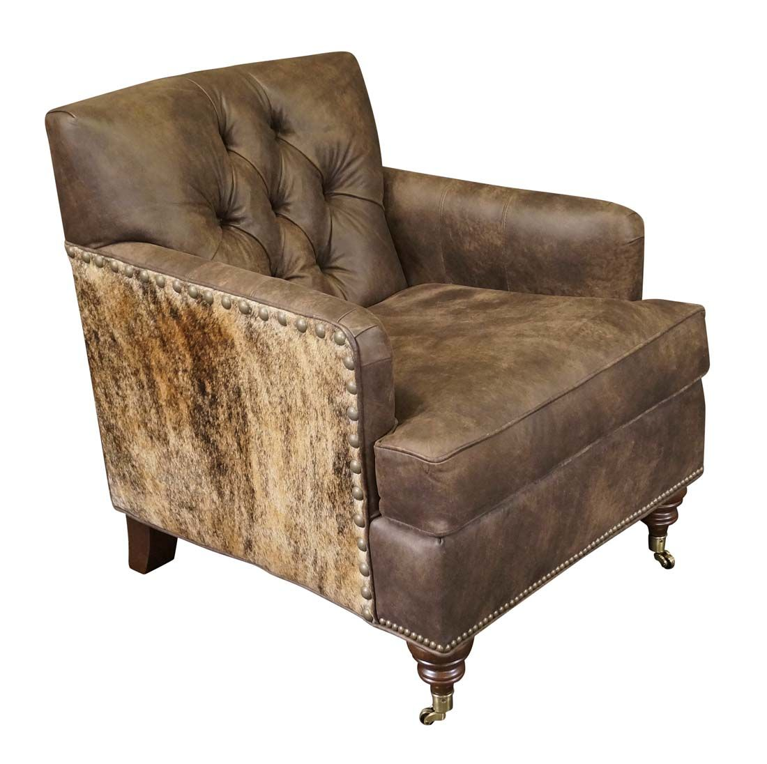Best Gutherie Western Chair Leather Chaise Lounge Chair 400 x 300