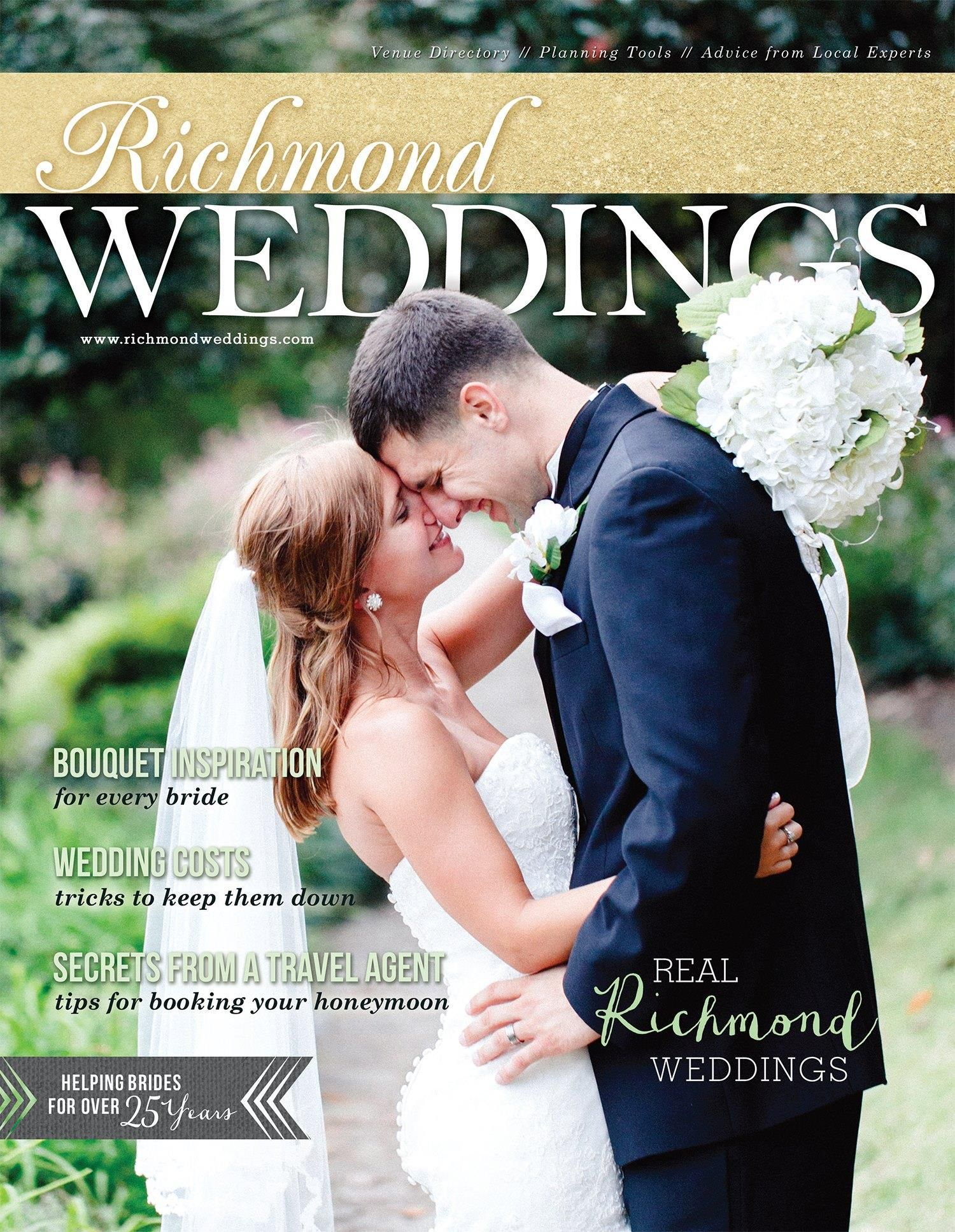 Richmond Weddings Magazine multiple client features and