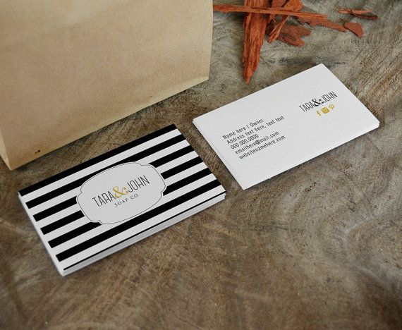 Tara Double Sided Business Card Instant Download By Deidamiah 799