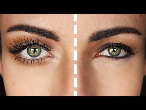 how to make your eyes appear larger or smaller with