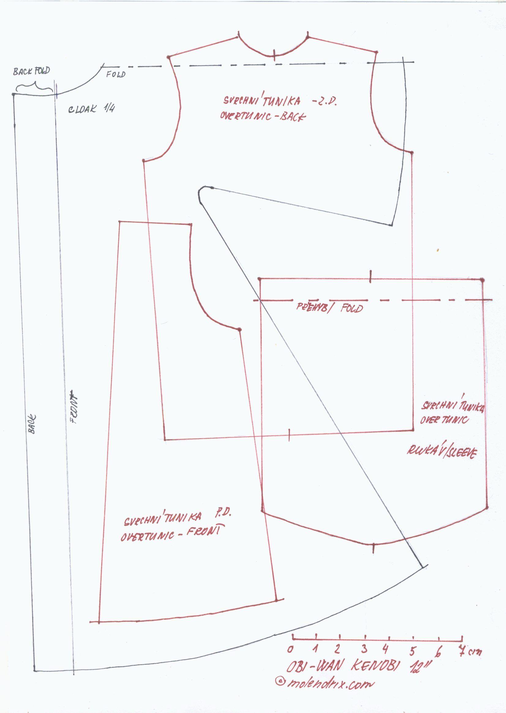 Pattern - Ken Obi Wan Kenobe | PlayScale: Action Figures | Pinterest ...