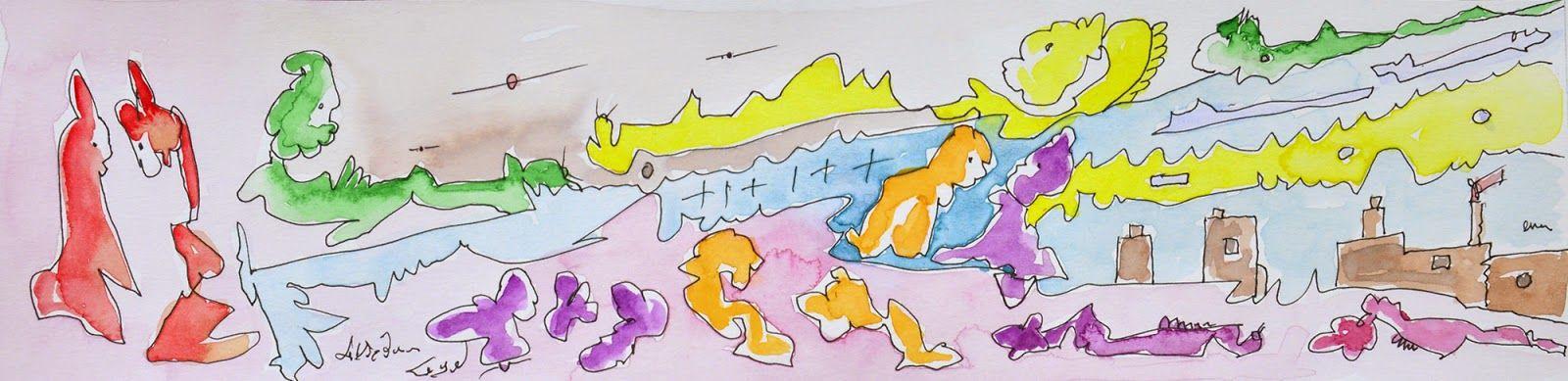 L'arte di Vittorio Amadio: Once Upon A Time. C'era una volta E poi parlavano lo stesso linguaggio dei cani, dei gatti, dei topi e dei conigli che popolavano uno dei regni più strani che madre natura e qualche uomo perso avevano costruito...