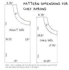 children's apron pattern - Google Search