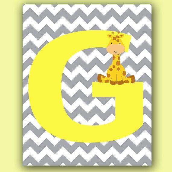 Letter G Printable Wall Art 8\