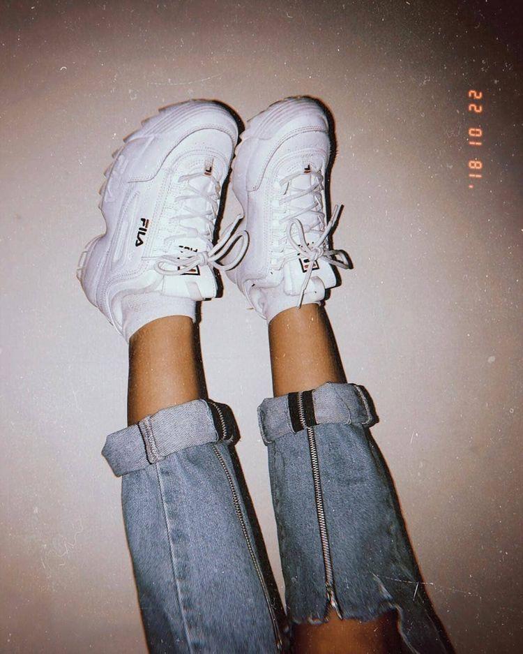 Fila Women's Disruption II Premium Sneakers #Sneakers