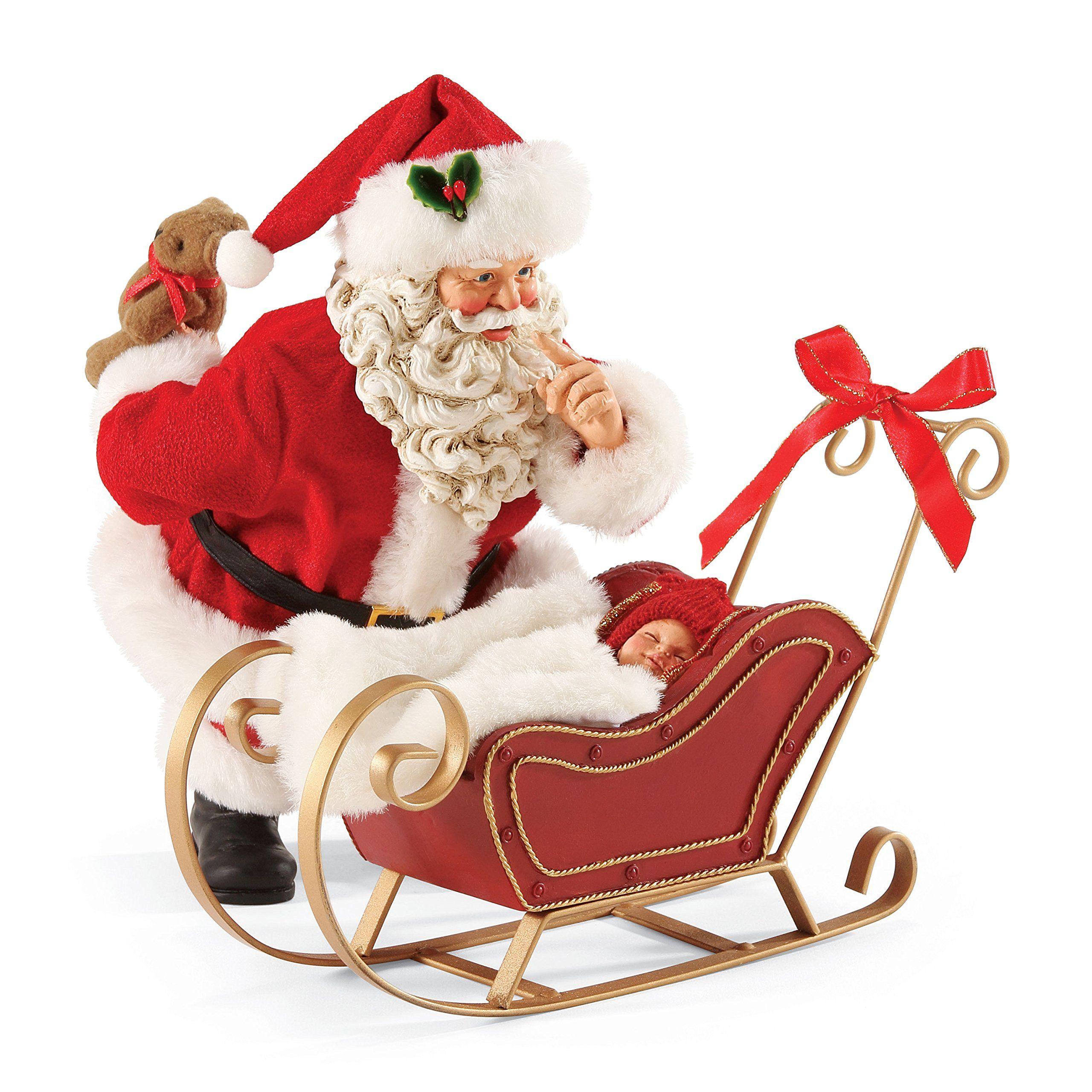 Department 56 Possible Dreams Christmas Santa's All Snug