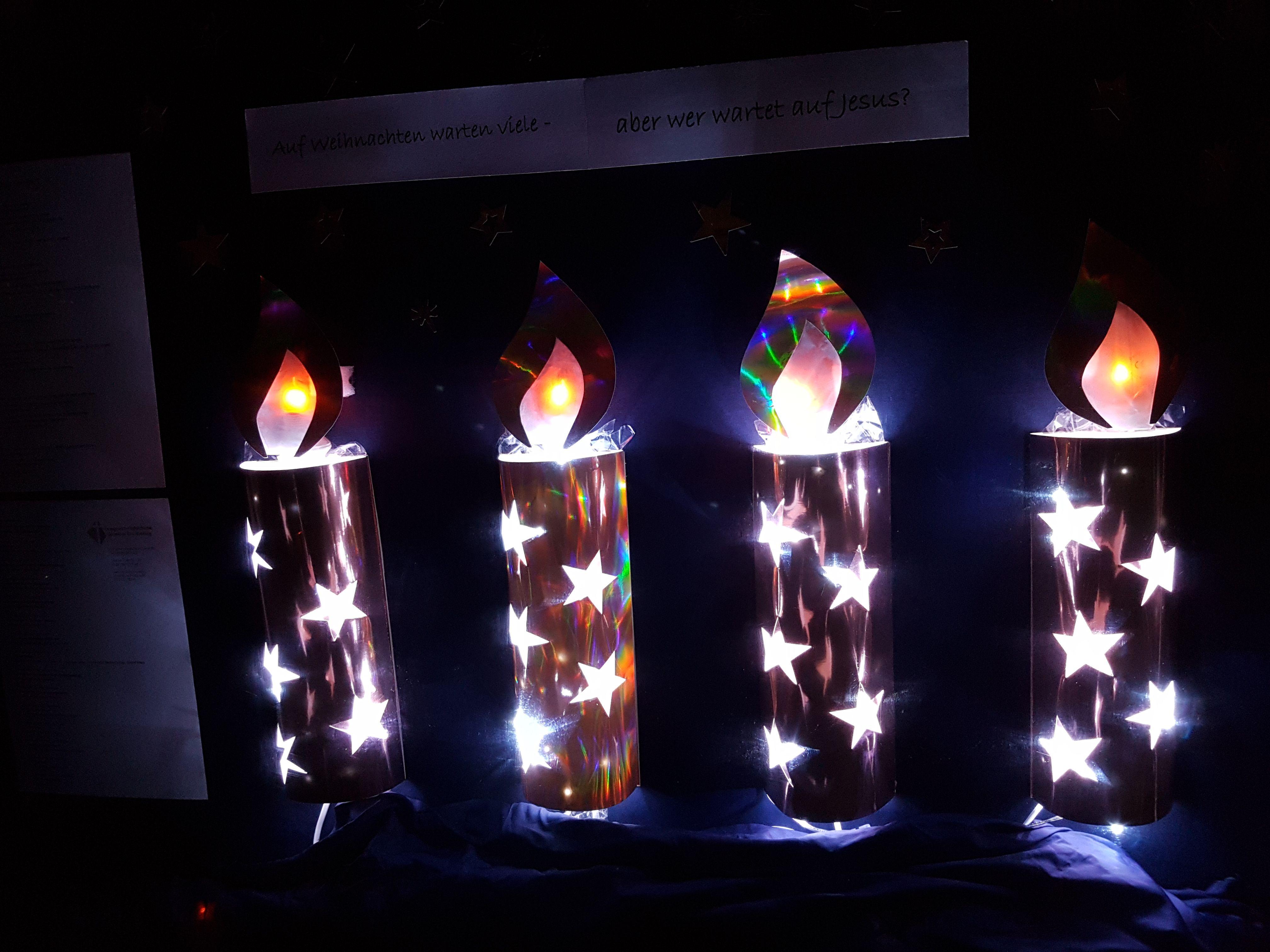 Ab Heute Brennen Alle Kerzen Schaukasten Kerzen
