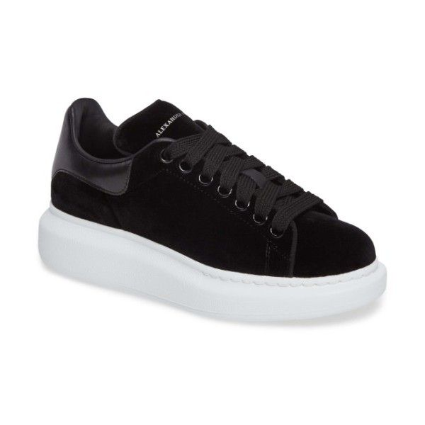 47bf8111392 Women s Alexander Mcqueen Sneaker (2.240 RON) ❤ liked on Polyvore featuring  shoes