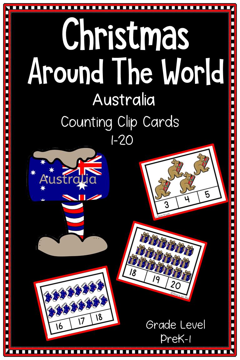 Christmas Around The World Australia Christmas Counting
