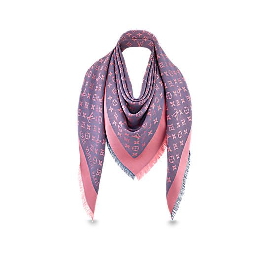 1ef11da5975b Monogram Neo Denim Shawl in Women s Accessories Scarves and Shawls  collections by Louis Vuitton