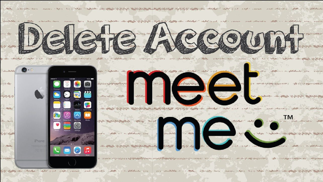 how do i delete a meetme account