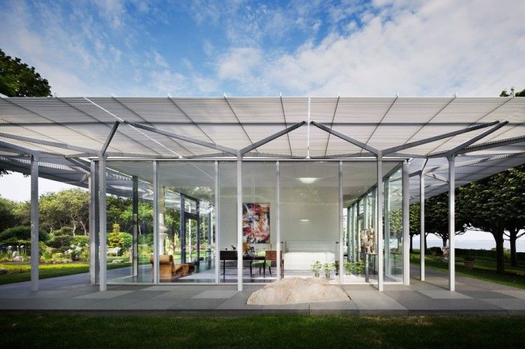 Fishers Island Glass House by Thomas Phifer and Partners | Glass ...