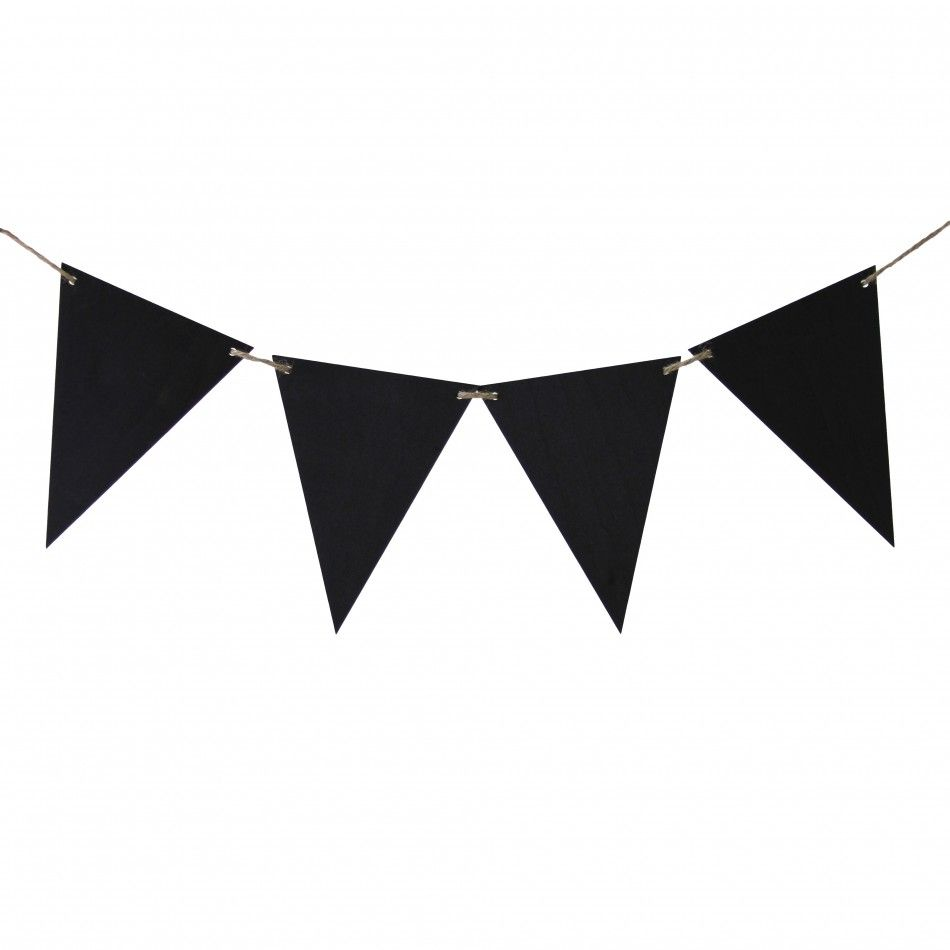 Chalkboard Banner Sign Pennants [424323] : Wholesale Wedding ...