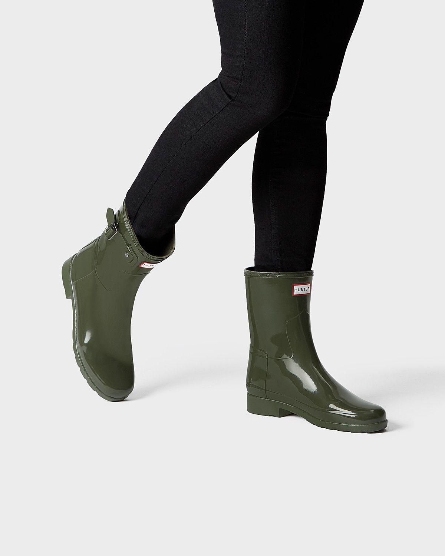 57f9a202ade Dark Olive-US-7 Hunter Boots