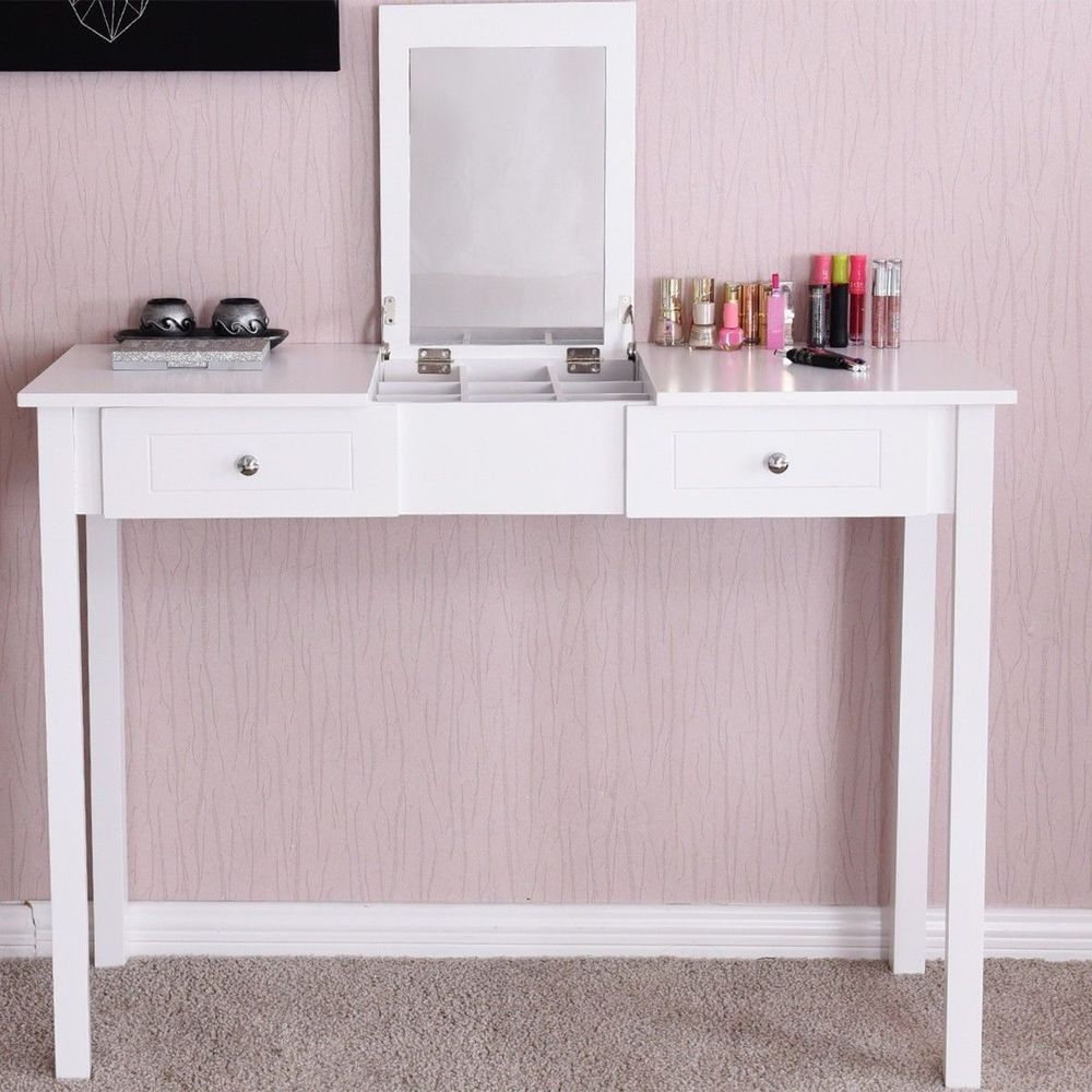 dressing drawers table design white lights ikea three carved on wooden mirror two for flooring classic vanity makeup small