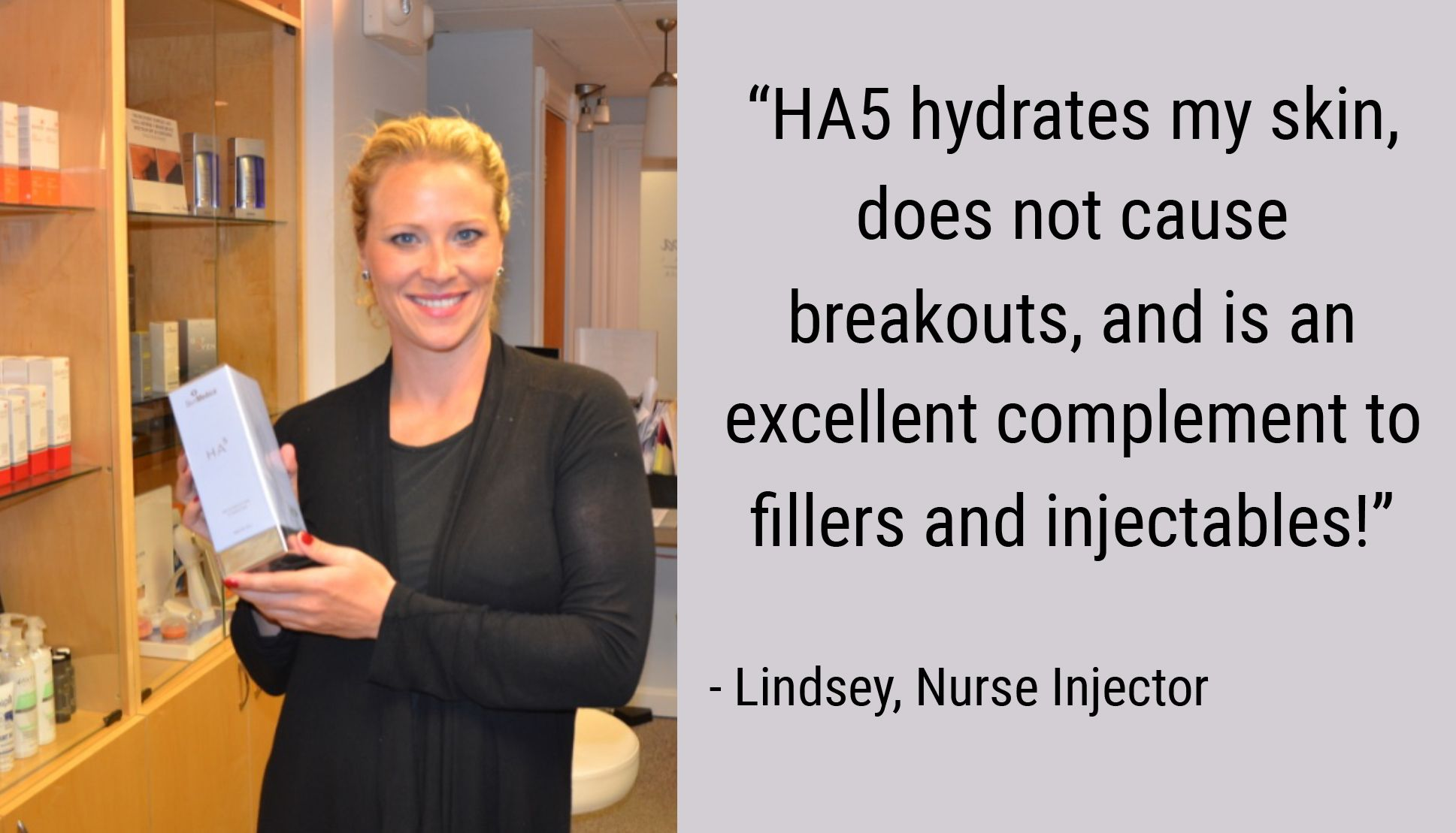 Lindsey is a certified nurse injector specializing in