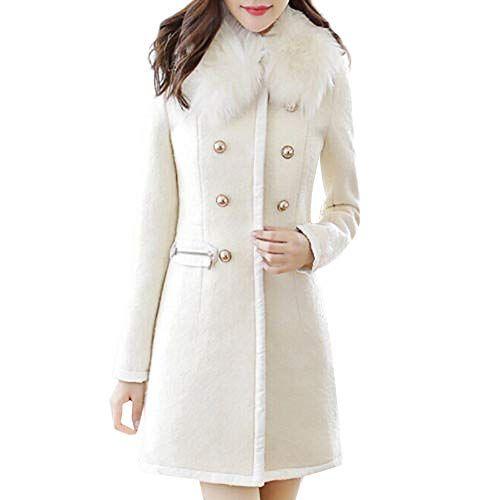 Chaude Hiver Veste Laine Coupe Sunnywill Manteau Femme Vent En Cq5fgnw