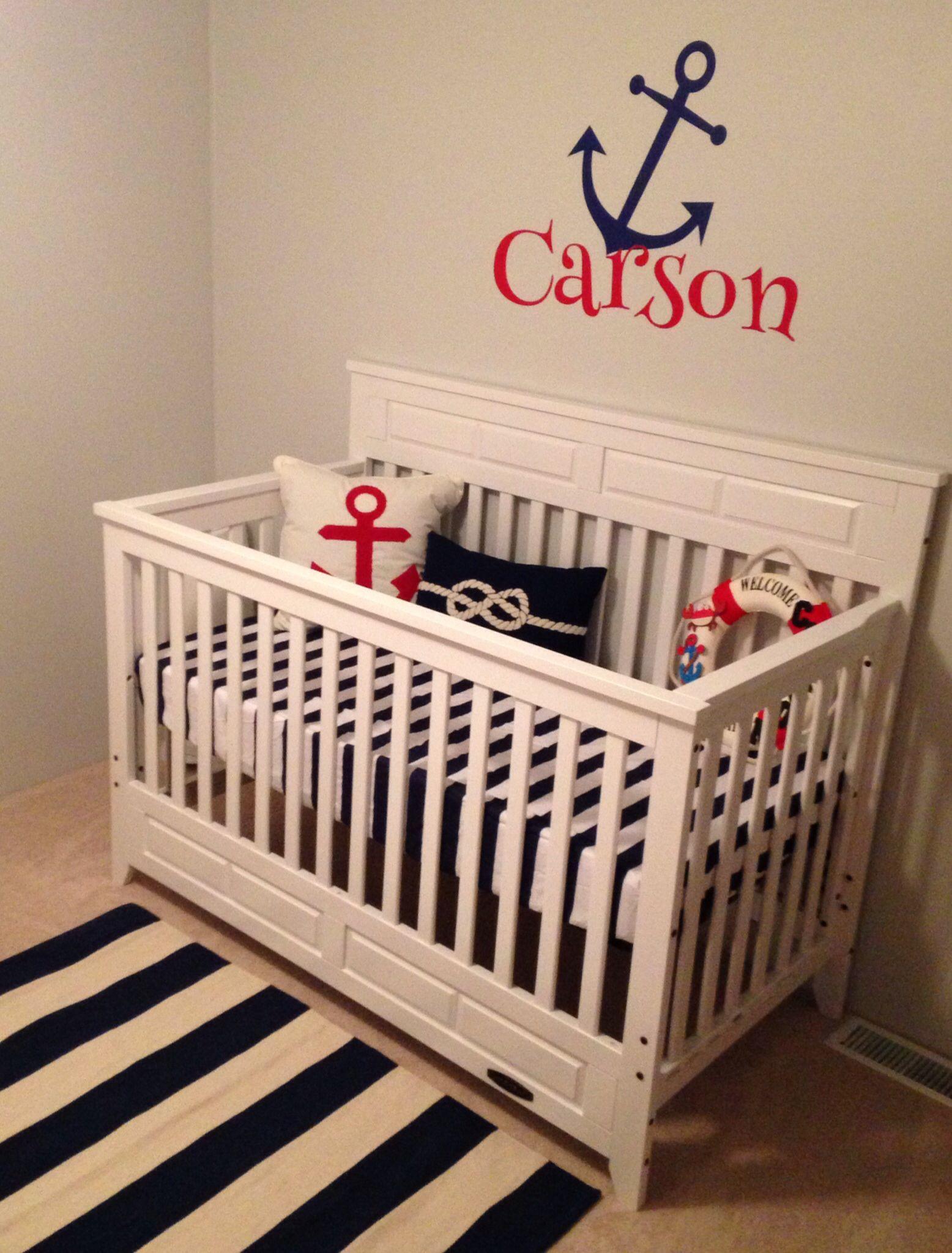 Nautical Baby Boy Nursery Room Ideas: Baby Boys Nautical Nursery!