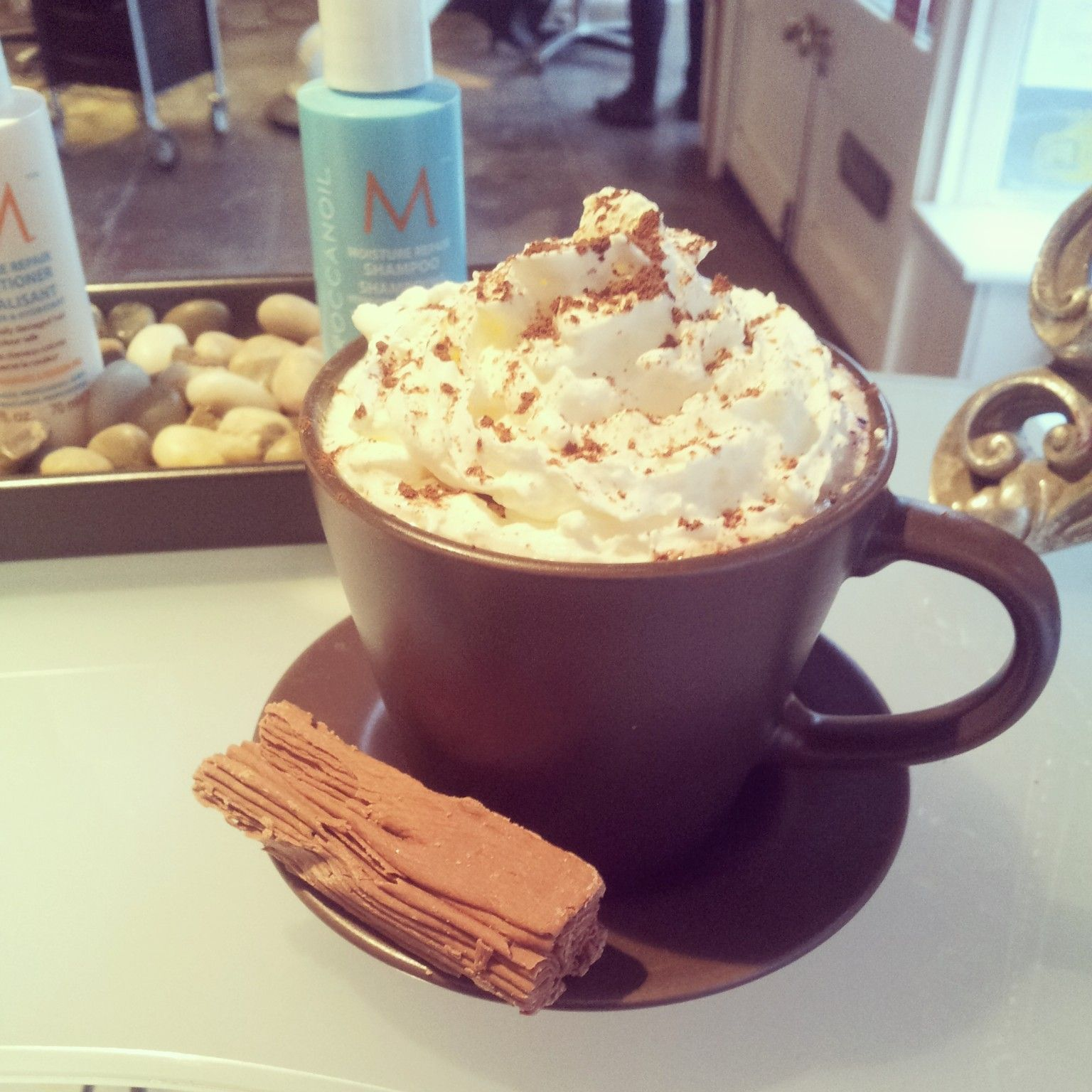 Luxury Hot Chocolates at Therapy