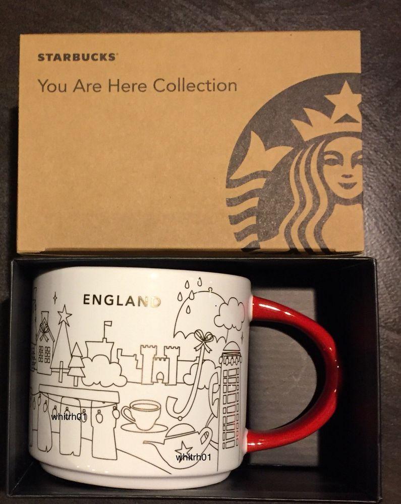 Starbucks England Christmas Yah Mug 2018 Stonehenge Tea You
