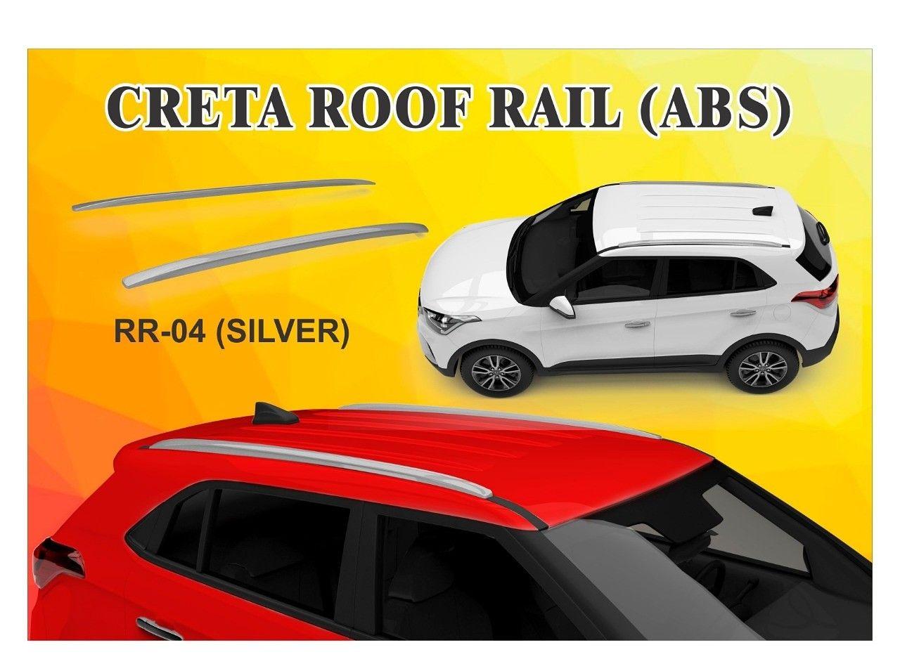 Creta Roof Rail Abs Roof Rails Car Accessories Abs