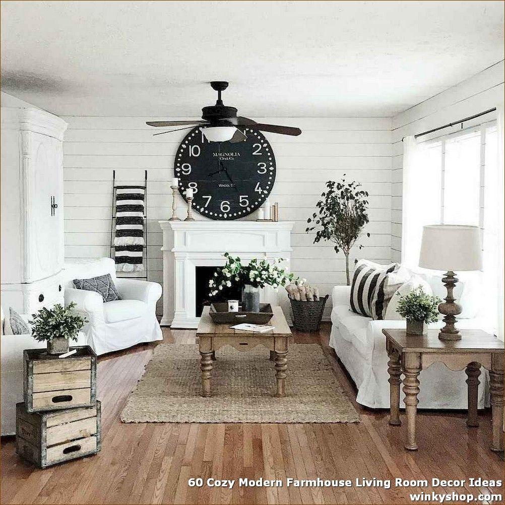 30+ Cozy modern farmhouse living room ideas