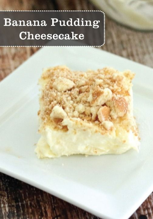 Banana Pudding Cheesecake with Nilla Wafers crumbles is a delicious dessert the whole family will enjoy.
