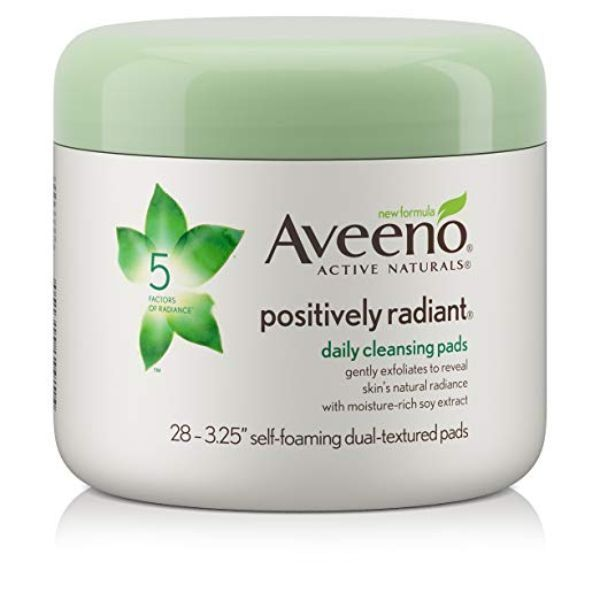 Pin By Sarah Maluo On Face Scrubs Aveeno Positively Radiant Cleansing Pads Aveeno