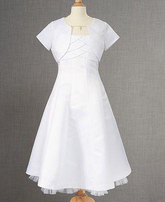 Bonnie Jean Kids Set Girls Communion Dress And Bolero