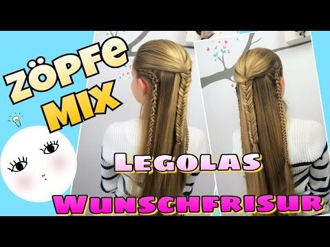 Legolas Frisur Zuschauer Wunsch Coole Madchen Zopfe Amp Frisuren Youtube Madchen Zopfe Cooles Madchen Frisuren Tutorial