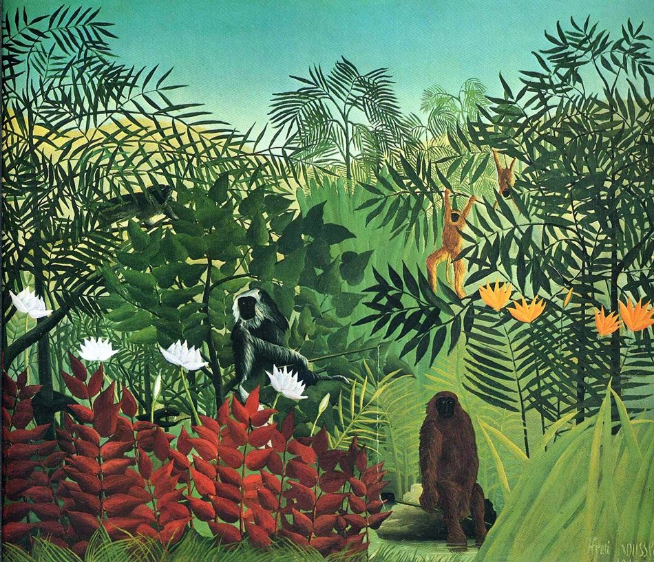 Painting by Henri Rousseau 2
