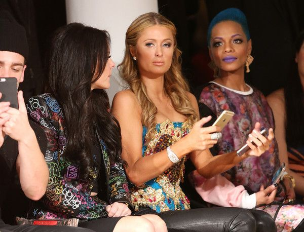 Paris Hilton Photos: The Blonds - Front Row - MADE Fashion Week Fall 2015