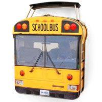 School Bus Metal Lunch Sandwich Box