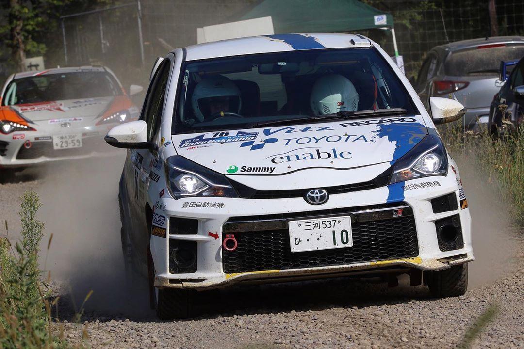 さあ、北の大地に向かいます💨 ▫️▫️▫️▫️▫️▫️▫️▫️▫️▫️▫️▫️▫️▫️ 🏷【#ラリー好きな人と繋がりたい 】 🏎【Toyota Vitz RS】🇯🇵 👤【Amano Tomoyuki(#天野智之)】🇯🇵 🗣【Inoue Yukiko】🇯🇵 📍【#北海道(#Hokkaido)】 ▫️▫️▫️▫️▫️▫️▫️▫️▫️▫️▫️▫️▫️▫️