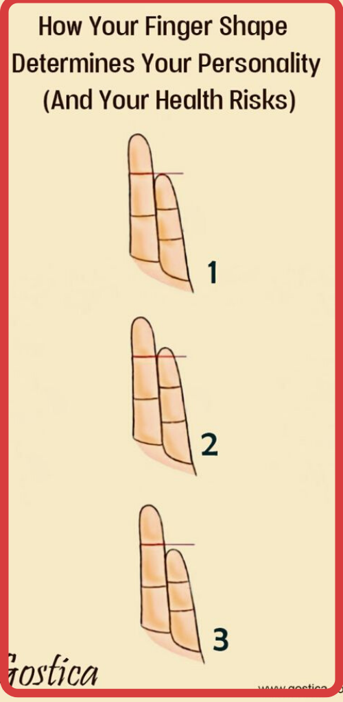 How Your Finger Shape Determines Your Personality (And Your Health Risks)