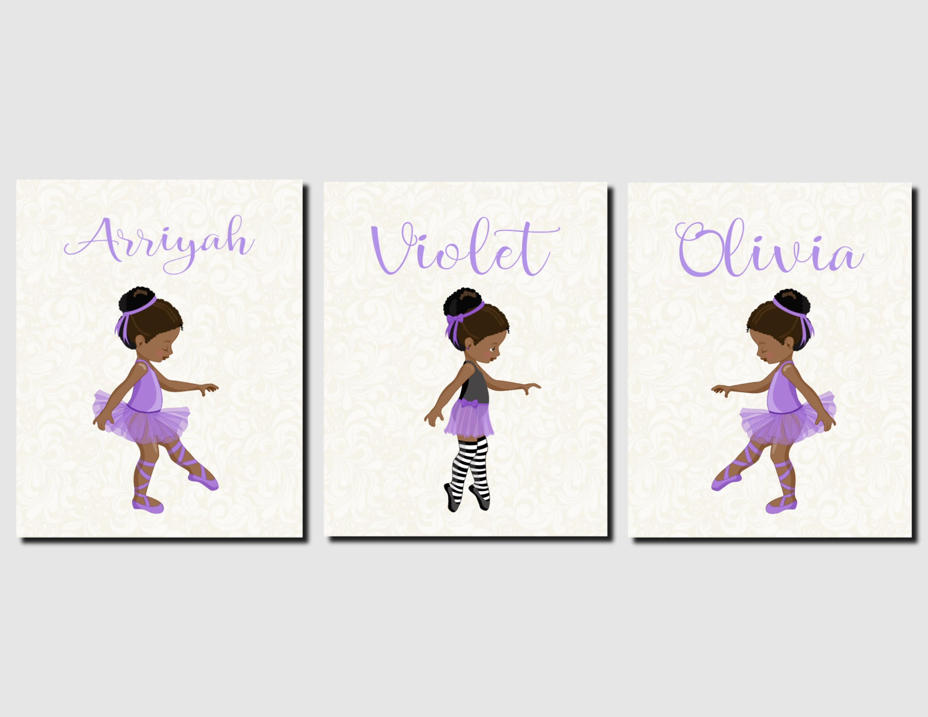 Sisters Wall Art, Ballerina Wall Art, Toddler Girls Room ...
