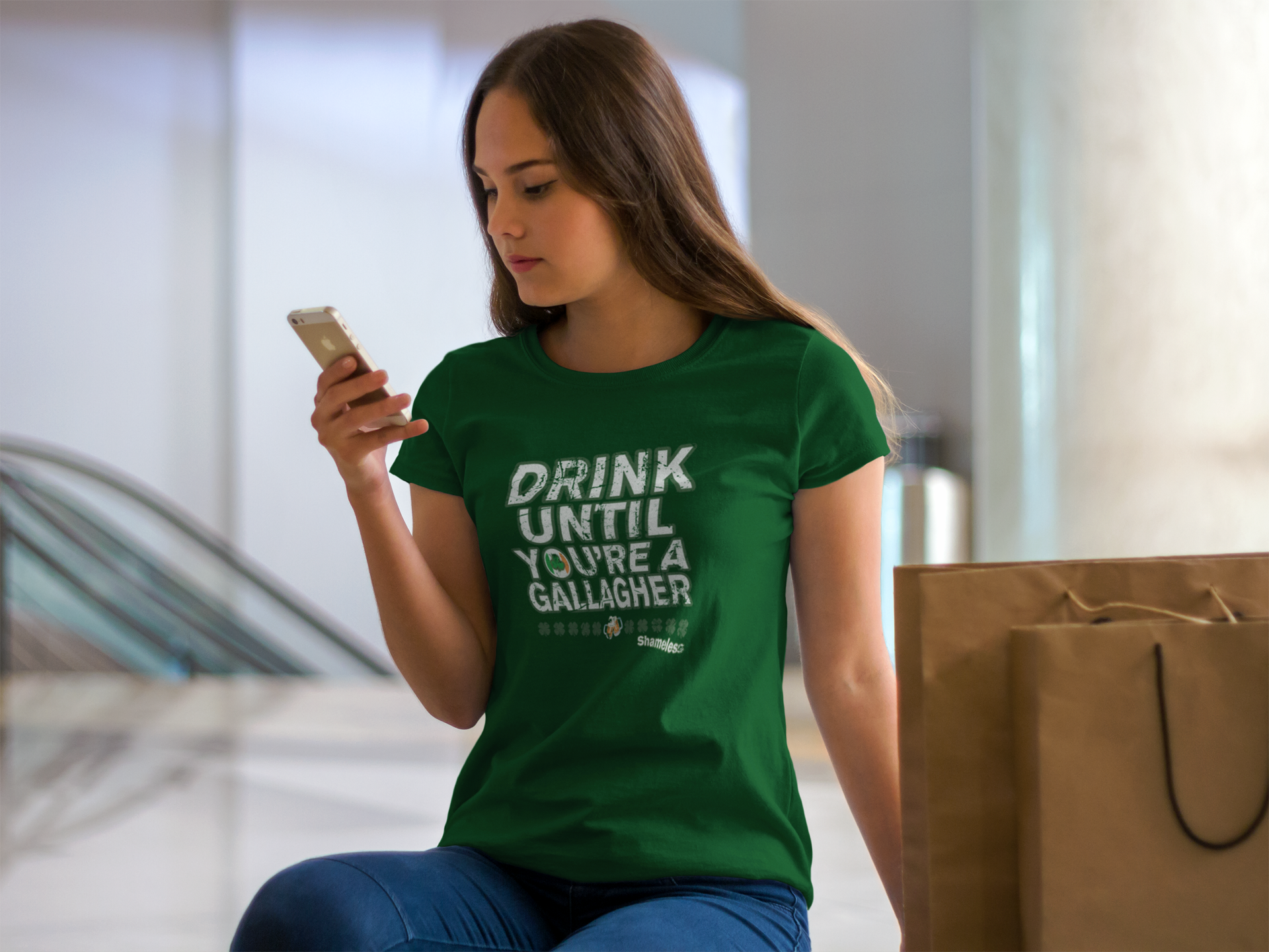 Amazon.com: Saint Patricks Day Shirt Shameless Frank Gallagher ...