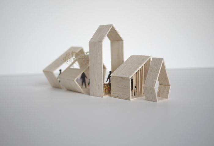 la Maison grise « Atelier Pierre Thibault | Architectural Models ...